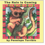 Cover the Rain is Comings, songs in the voices of rain forest animals